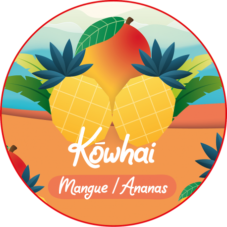 REFILL-ISLAND - KOWHAI (0MG/ML NICOTINE)