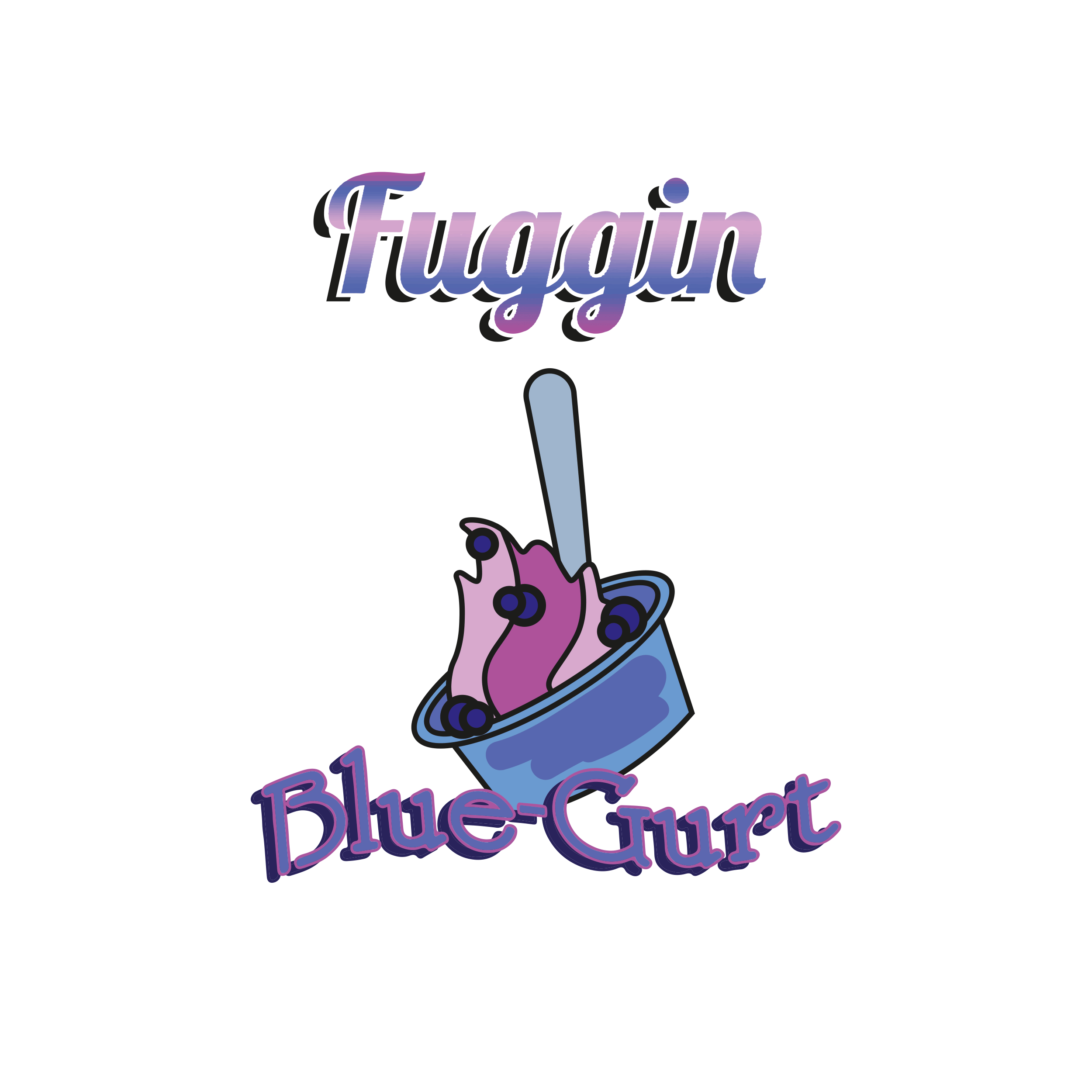FUGGIN - BLUE-GHURT - (0MG/ML NICOTINE)