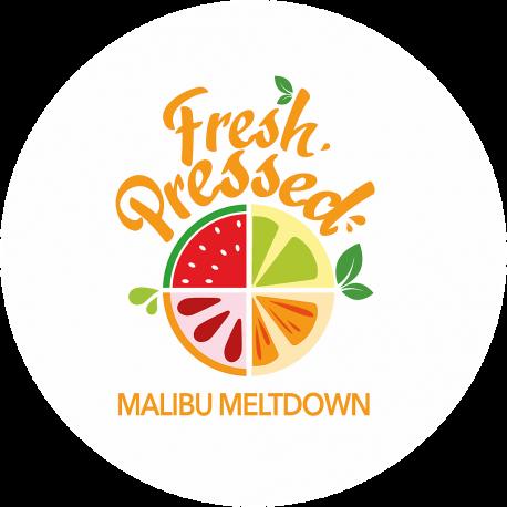 FRESH PRESSED - MALIBU MELTDOWN - (0MG/ML NICOTINE)